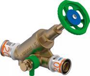 Uponor S-Press PLUS Кран зі зворотнім клапаном DN 20