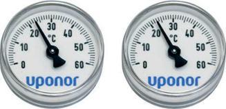 Uponor Vario PLUS Thermometer 0-60°C