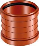Uponor Soil&Waste муфта канализационная надвижная PP