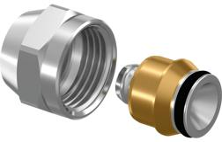 Uponor Uni-X Затискний адаптер М22 MLC