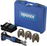 Uponor S-Press Akkumaschine Mini² mit KSP0 Pressbacken
