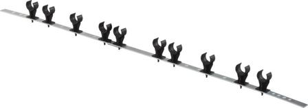 Uponor Sport dvojitý ocelový držák potrubí